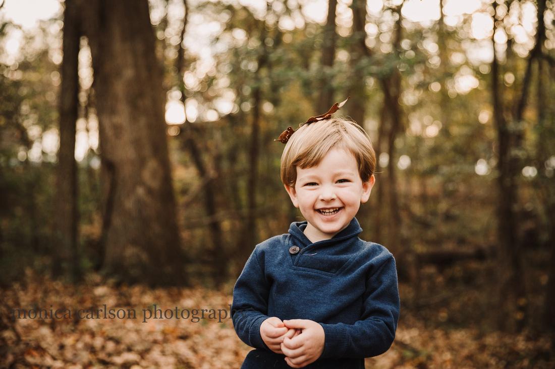 portrait of a smiling caucasian boy