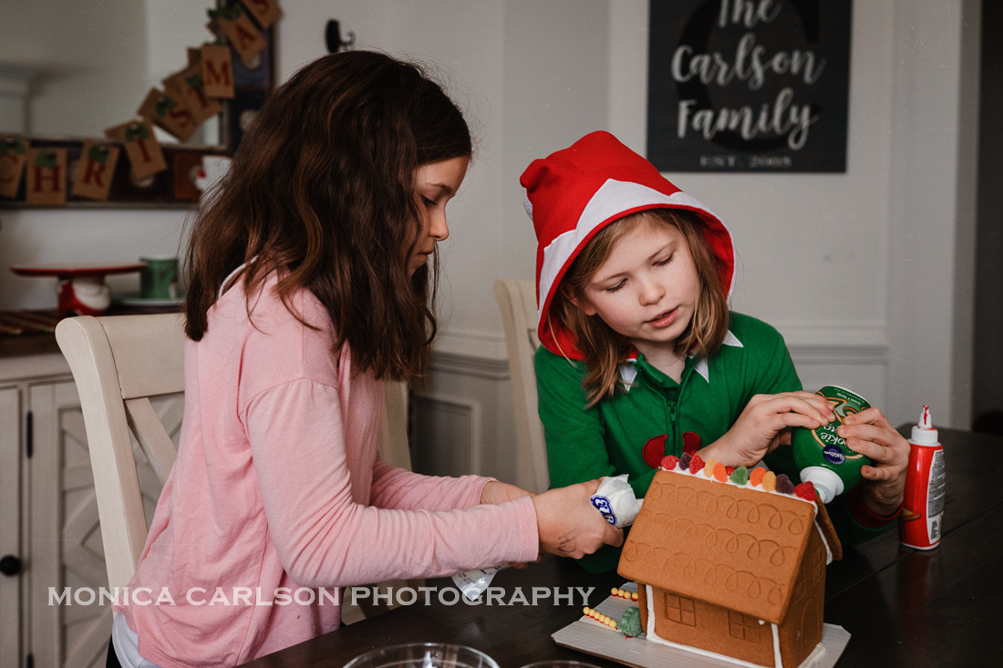 gingerbread house making monica carlson posted on the Click Pro