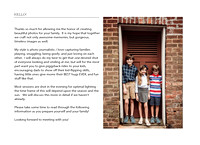 three kids in a doorway at Barrington Hall in Roswell, GA