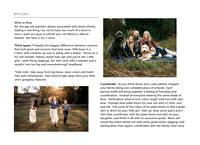 families bonding and running in a rustic setting in Alpharetta, GA