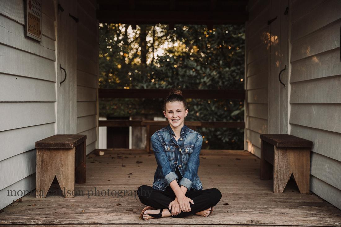 tween sister sitting cross cross applsauce in Roswell, GA