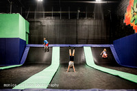 trampoline park by monica carlson posted on the Click Pro Daily