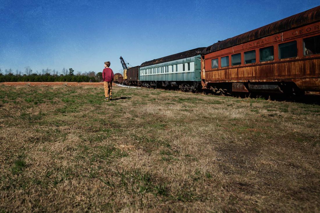 southeastern railway museum fine art image by monica carlson pos