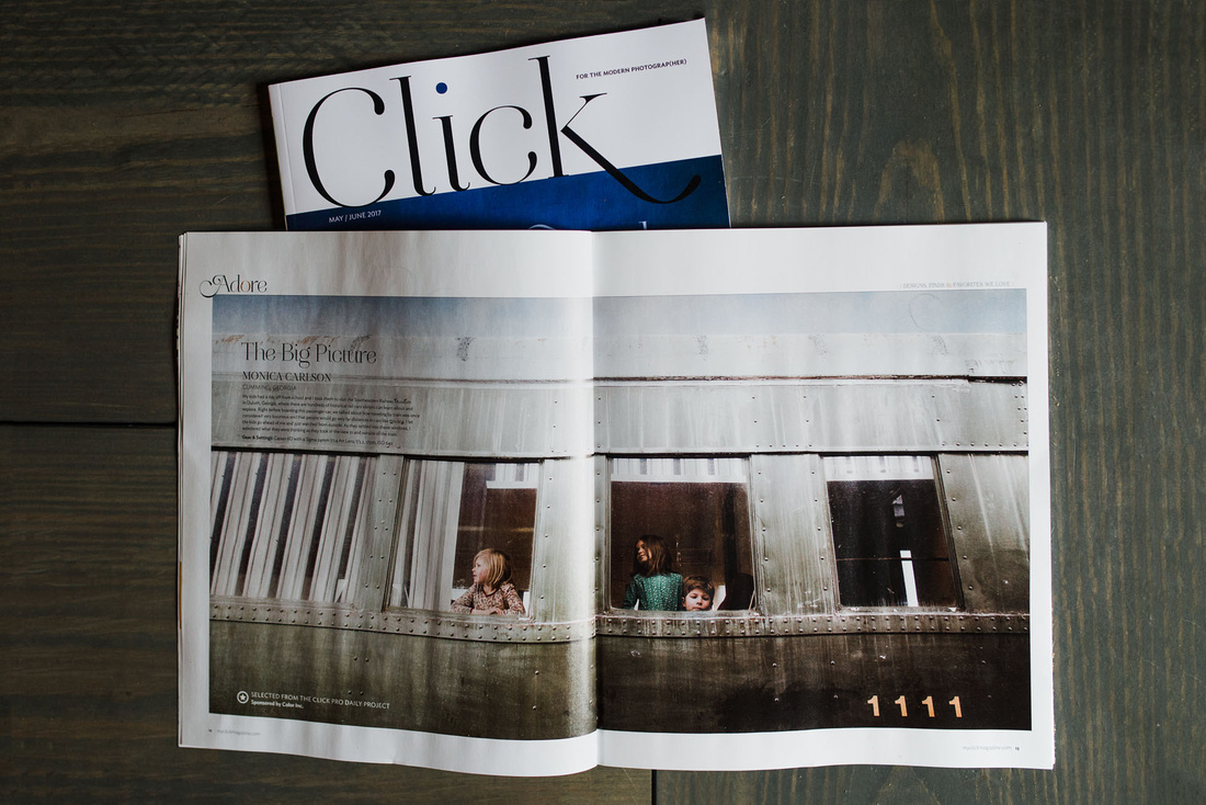 click magazine by monica carlson posted on the Click Pro Daily P