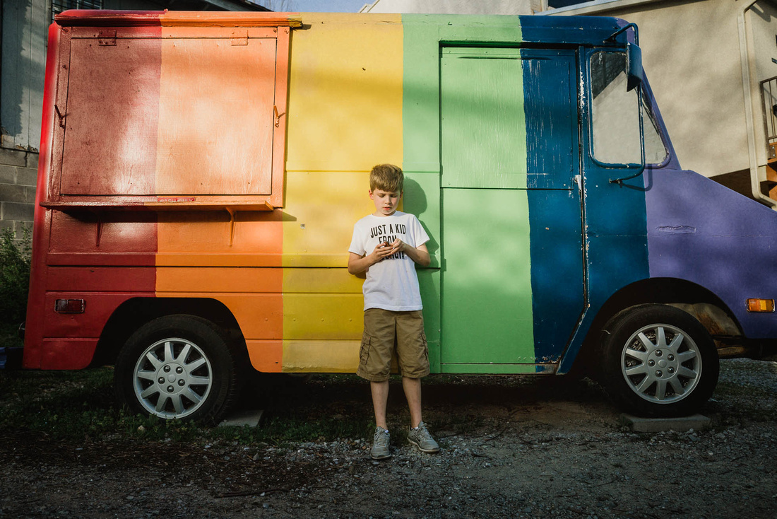 rainbow truck image by monica carlson posted on the Click Pro Da