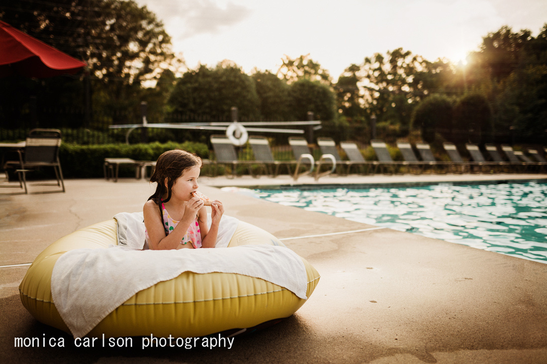 dinner by the pool  by monica carlson posted on the Click Pro Da