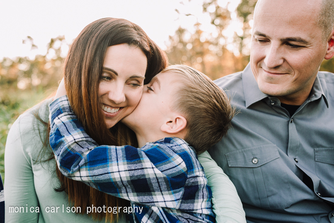 Edgington family session by monica carlson photography