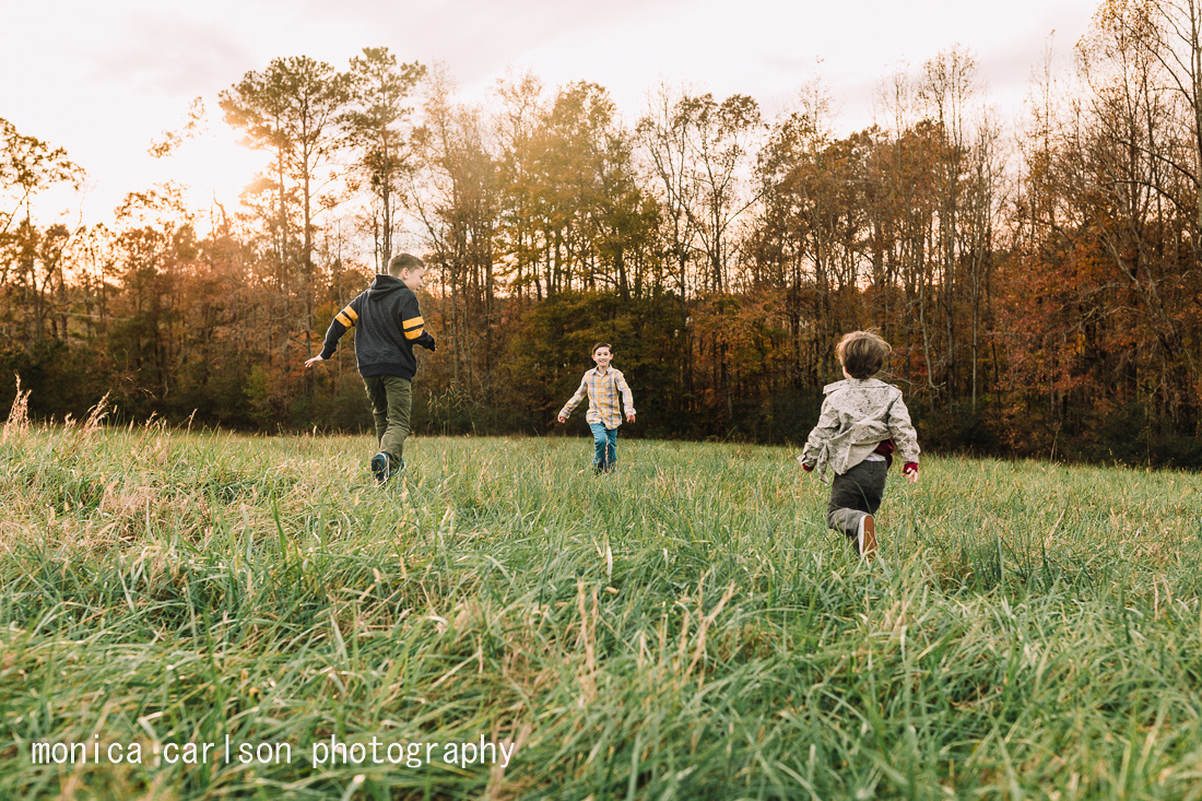 cleary family session by monica carlson photography