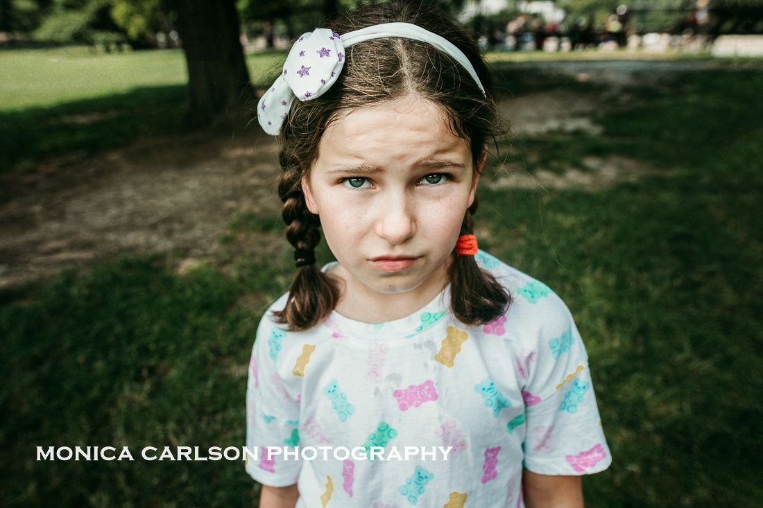 melting in central park by monica carlson posted on the Click Pr