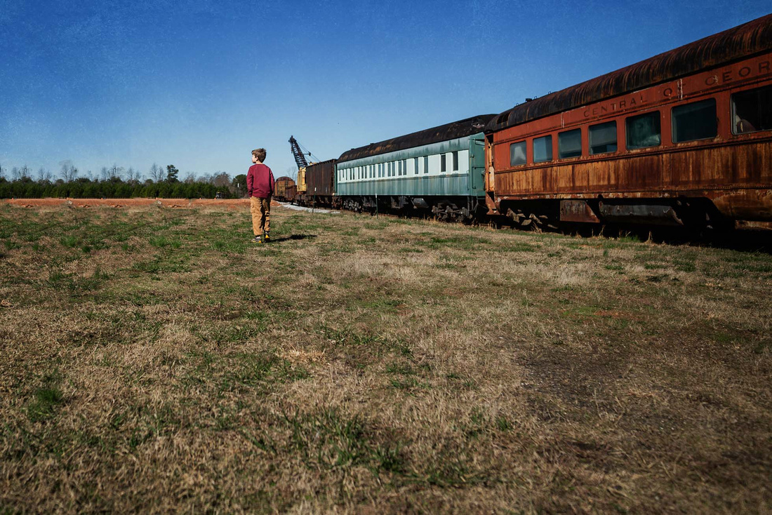 southeastern railway museum fine art image by monica carlson pos